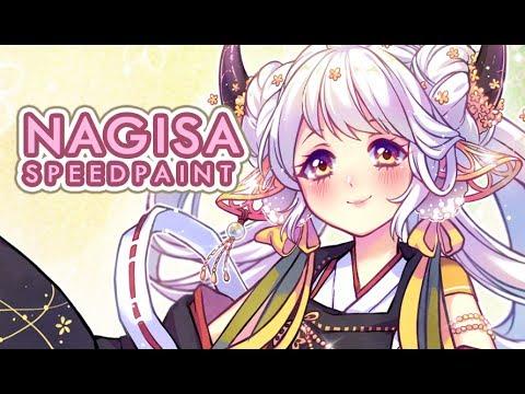 Nagisa [Paint Tool SAI] Speedpaint