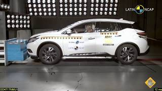 2018 Nissan Murano (7 Airbags) CRASH TEST