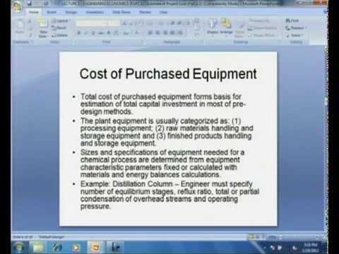 Mod-08 Lec-04 Project Cost Estimation (Part I)