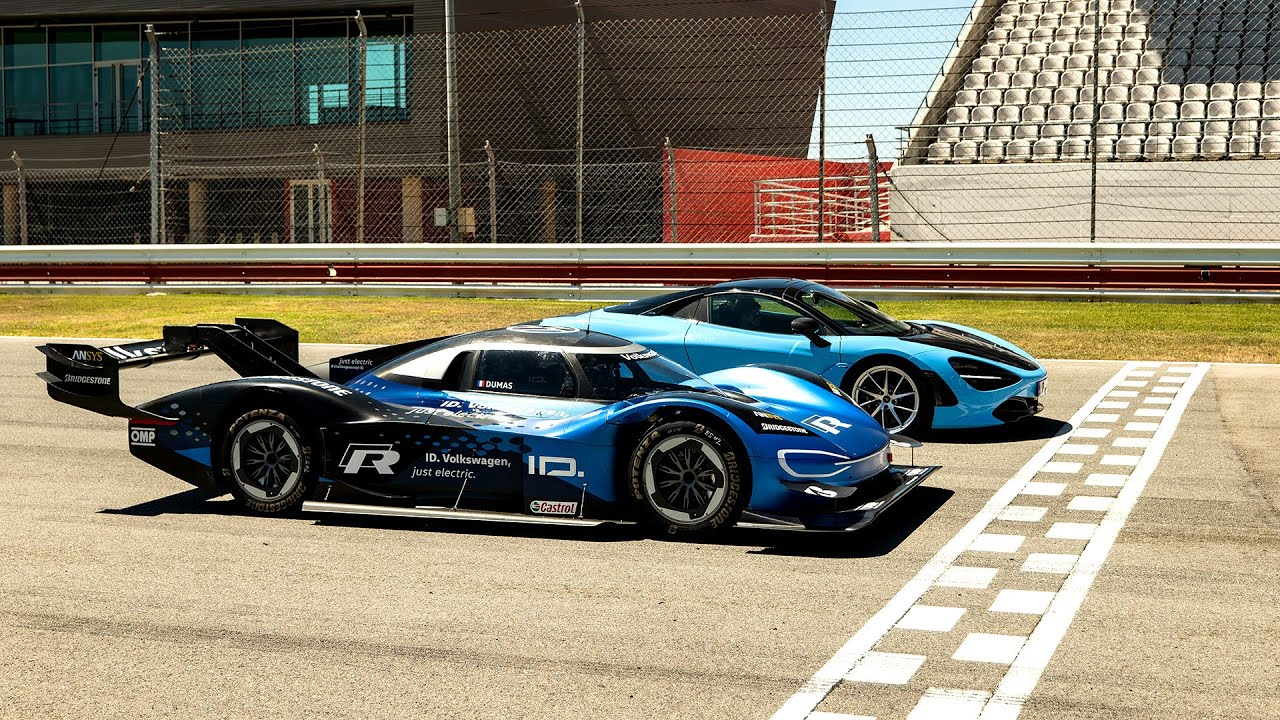 PREVIEW: Volkswagen I.D. R vs McLaren 720s   Top Gear: Series 28