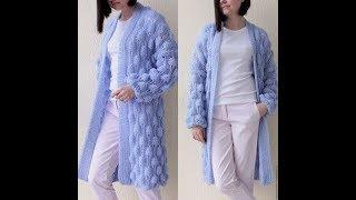 Вязаный Кардиган Спицами для Женщин - фото 2019 / Knitted Cardigan Knitting needles for Women photo