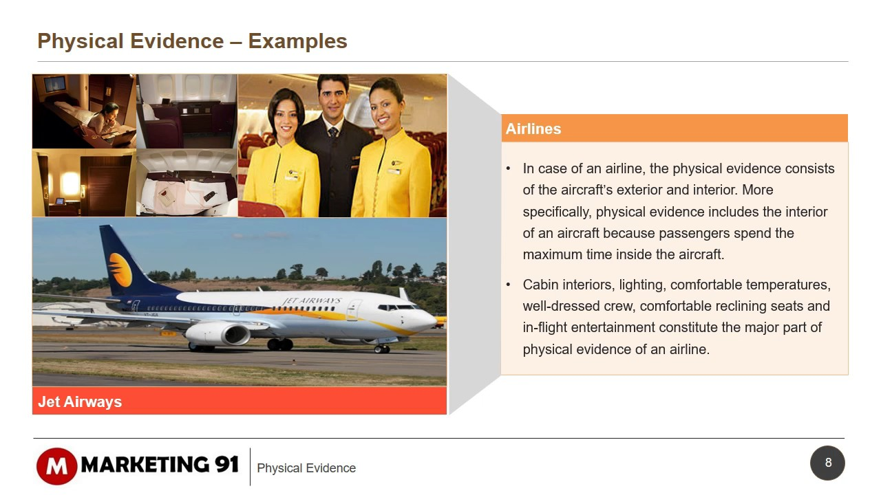 marketing mix of jet airways