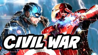 Captain America Civil War Teams Breakdown