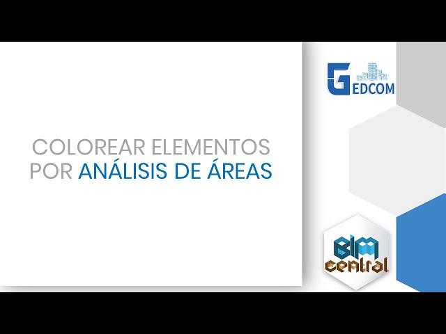 Como colorear elementos por análisis de área en Revit con Dynamo