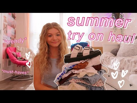 SUMMER TRY-ON CLOTHING