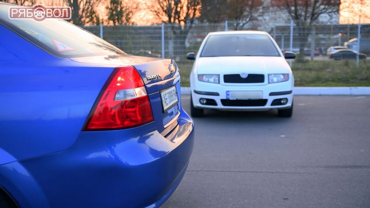 Перпендикулярная парковка задним ходом - Уроки вождения для начинающих