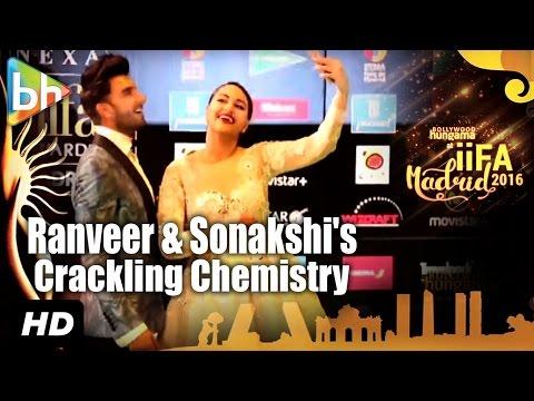 Ranveer Singh, Sonakshi Sinha's Crackling Chemistry At IIFA Awards, Madrid Will Make You LOL