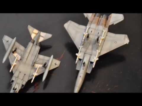 F-15 & F-4 1/144 Scale Quickie Build
