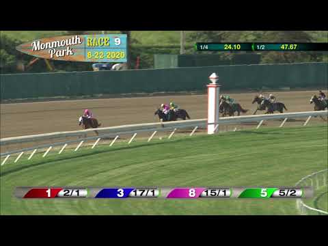 video thumbnail for MONMOUTH PARK 08-22-20 RACE 9
