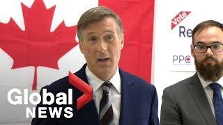 Canada Election: Maxime Bernier launches federal election campaign
