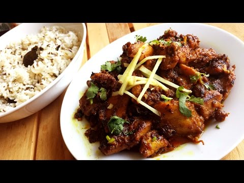 Ginger Chicken| Ginger-flavored Chicken Curry