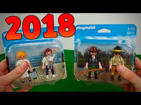 playmobil 2018 nouveaut s playmobil duo catalogue 2018 achat playmobil youtube. Black Bedroom Furniture Sets. Home Design Ideas