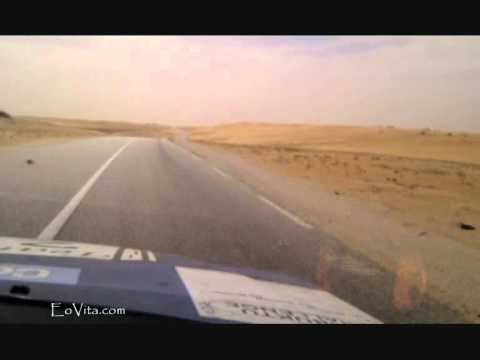 Finding a Dune while Driving Through Mauritania