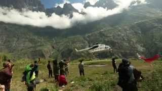 Caritas provides aid to far remote areas in Nepal