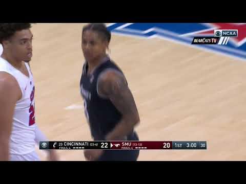Men's Basketball Highlights: Cincinnati 52, SMU 49 (Courtesy CBS Sports Network)