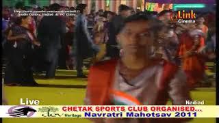 Chetak 2011 Garba  Amit Patel at AATHAM - part2