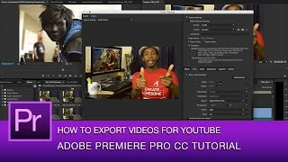Premiere Pro CC Tutorial: Best Video Export Settings for YouTube | Premire Pro CC 2014 thumbnail