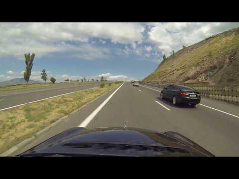 дорога ЕРЕВАН-СЕВАН  -  по трассе 64 км, а по прямой - 56 км  -   Дорога из Еревана в Севан