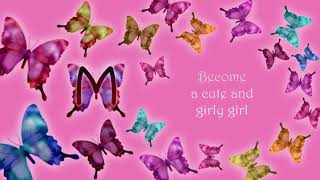 Become a cute and girly girl -Subliminal power-
