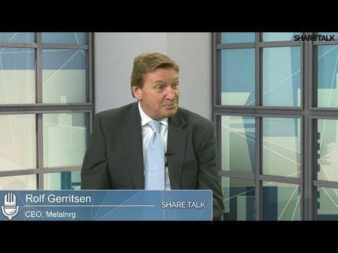 Rolf Gerritsen, CEO of MetalNRG Plc (MNRG) update Shareholders