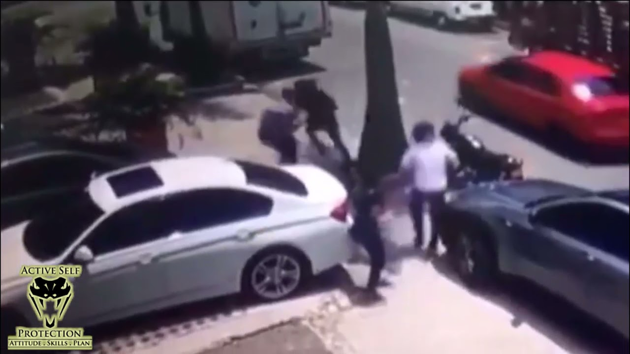 Colombian Couple Fight Back Against Robbers