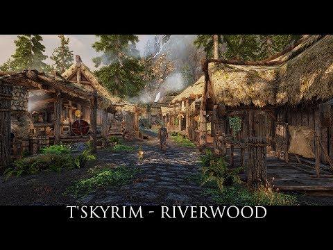 Skyrim SE Mods: T'Skyrim - Riverwood (Addon for JK's Skyrim)