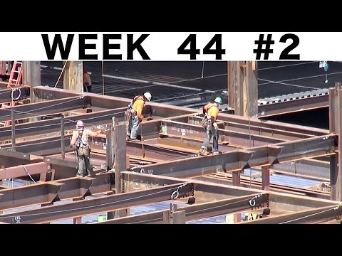 "Ironworkers: ""raw"" construction footage (Week 44 construction clips set #2)"