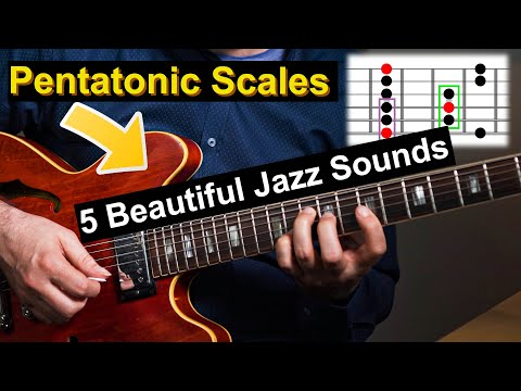 5 Pentatonic Scales That Are Great On A Maj7