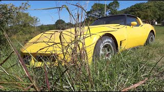 ABANDONED Corvette Stingray Will it Run and Drive? (Already registered in burnout competition!)