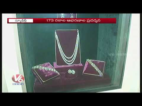Rare Collection Of Nizam Jewels Exhibition At National Museum | Delhi | V6 News