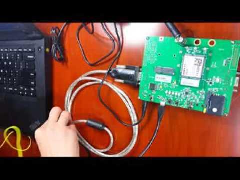 Demo Quectel 3G GNSS module the UC20 UMTS HSPA