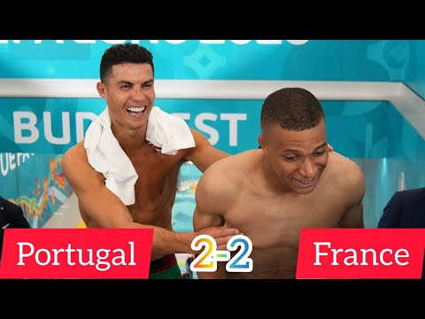 Portugal vs France match highlights in picture   Portugal 2-2 France   EURO 2020  