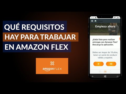 Qué Requisitos hay para Trabajar en Amazon Flex - Requisitos Amazon Flex