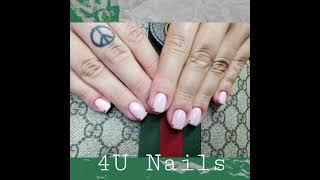 Love pink Nails 사랑스런 분홍색 네일 Ju…