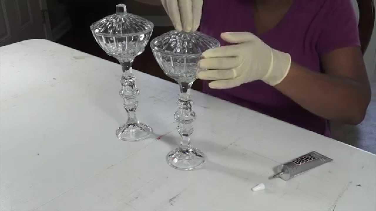 DIY Dollar Tree Pedestal Candy Dish YouTube