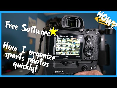 Free Software - XnView MP Photo Viewer - Sports Photography Tutorial - Photo Mechanic Alternative