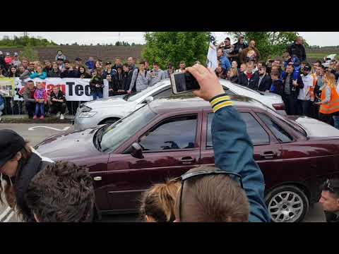 Lada Priora Vs Toyota Camry 2 4 AT / 11.05.2019 / Autoclub 12 Region