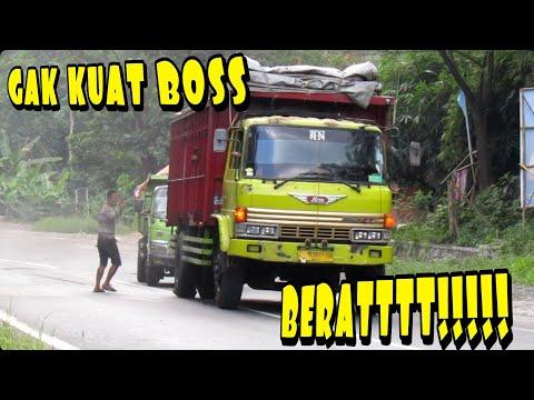GAK KUAT!!! Truk Hino Gagal Narik Dump Truck Hino Dutro Yang Mogok Karena Patah As