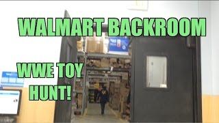WWE ACTION INSIDER: Backroom Walmart Wrestling figure HUNT! Mattel Elites Store Shopping