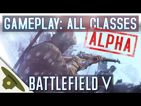 BATTLEFIELD 5 EA PLAY PRE-ALPHA - All classes raw gameplay + tanks and towing