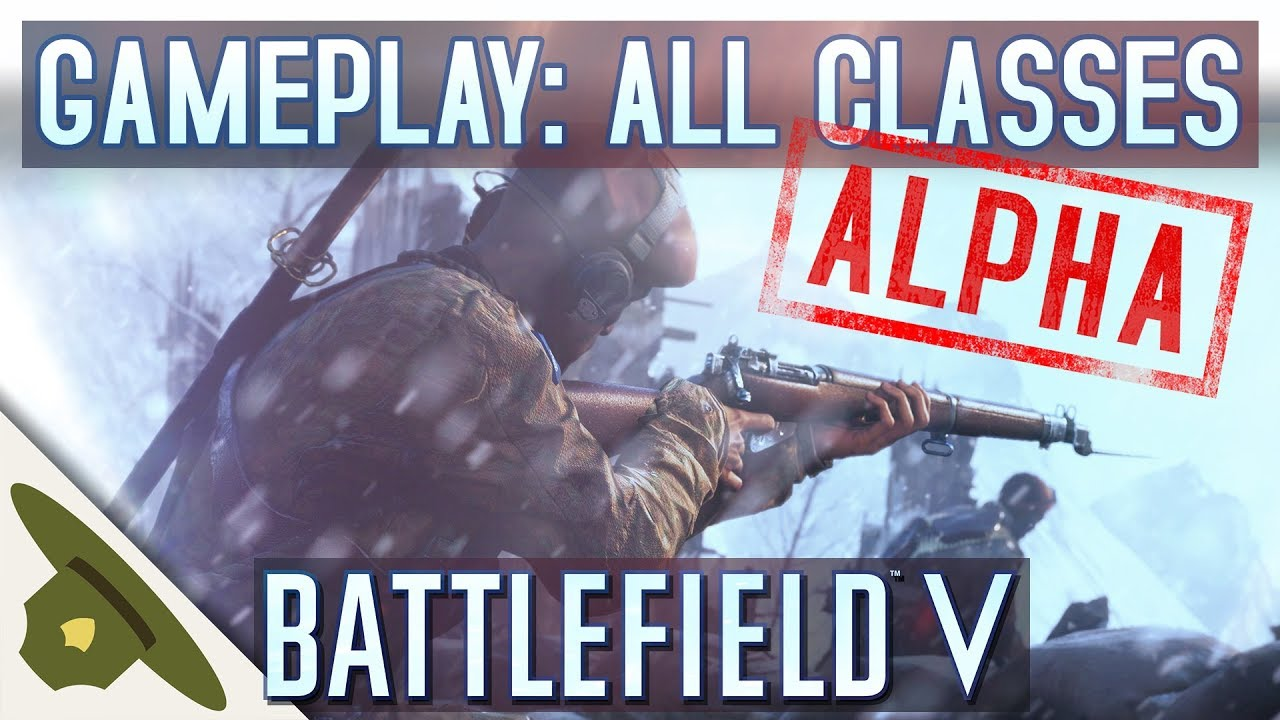 BATTLEFIELD V EA PLAY PRE-ALPHA - All classes raw gameplay + tanks and towing