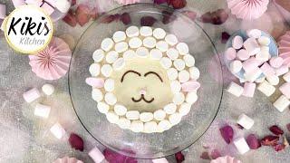 Schäfchentorte mit Marshmallows Glutenfrei | Eid Cake | Kurban Bayrami | Bayramtorte | Rüblikuchen