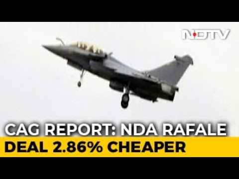 New Rafale Deal 2.8 % Cheaper Than UPA Agreement: Auditor (CAG) Report Mp3