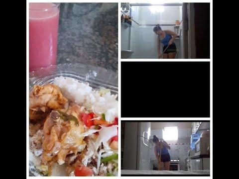 Vlog Da Manhã/Arrumando A Casa + Fazendo Almoço - #Brenda Santtana