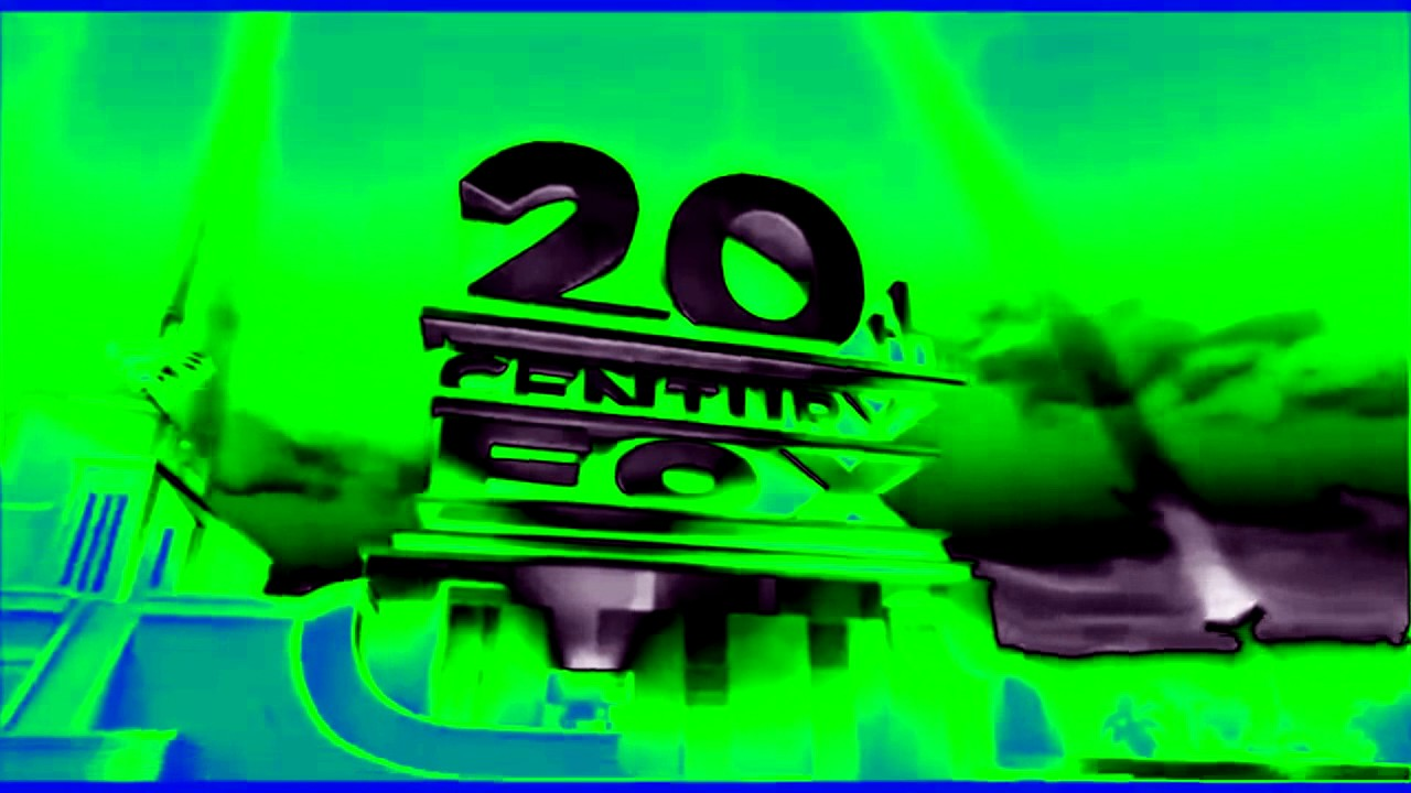20th century fox with green  black  blue color scheme youtube 25 anniversary logo free 25th anniversary logo free download