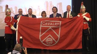 Spruce Meadows unveils Cavalry FC Soccer