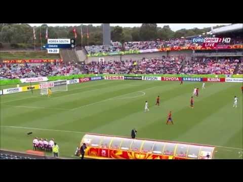AFC Asian Cup 2015 - Match 2 - Korea Republic vs Oman (group A)