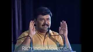 Gopinath motivational speech at RICH INDIA