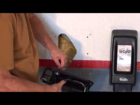 excel dryer xlerator hand dryer installation on