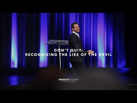 Don't Quit: Recognizing the Lies of the Devil
